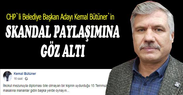 CHP'li Kemal Bütüner gözaltına alındı