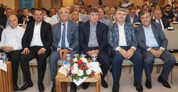YILMAZ Nevşehir`de  Bölge Toplantısında