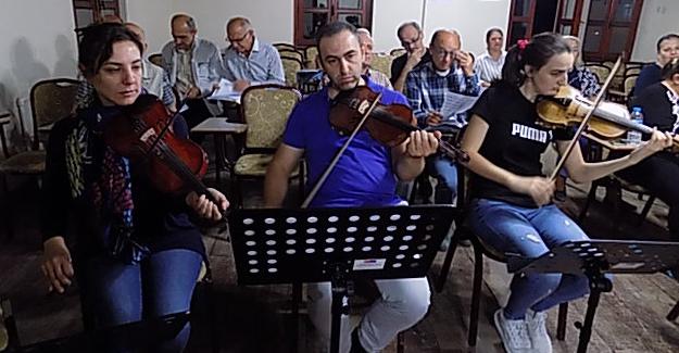 Bafra Musiki Cemiyeti  Çalışmalara Hız Verdi