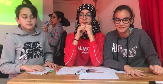 Canik Hasköy Ortaokulu Bilgi Yarışması