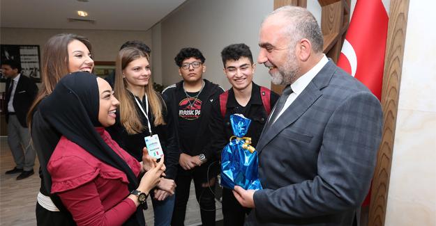 Erasmus Öğrencilerinden Sandıkçı'ya Ziyaret