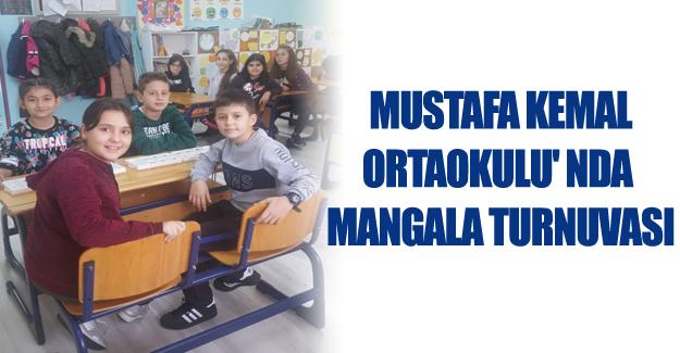 Mustafa Kemal ortaokulu' nda Mangala Turnuvası