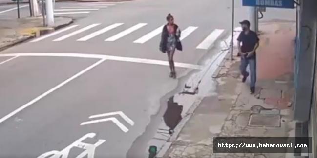 Sokak Ortasında Kadına infaz!
