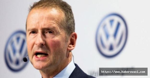 Volkswagen CEO'su skandala imza attı