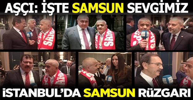 İstanbul`da Samsun Rüzgarı