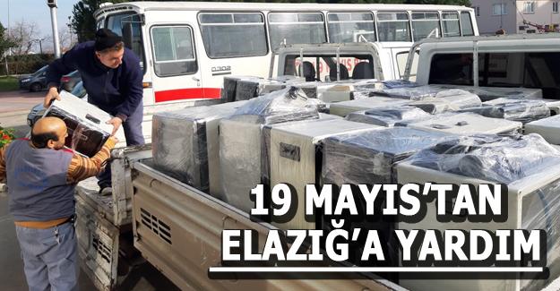19 Mayıs'tan Elazığ'a Yardım