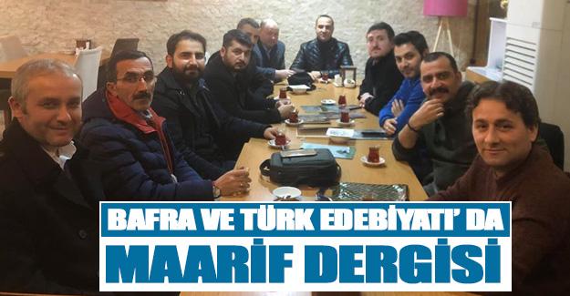 Bafra Ve Türk Edebiyatı' Da Maarif Dergisi