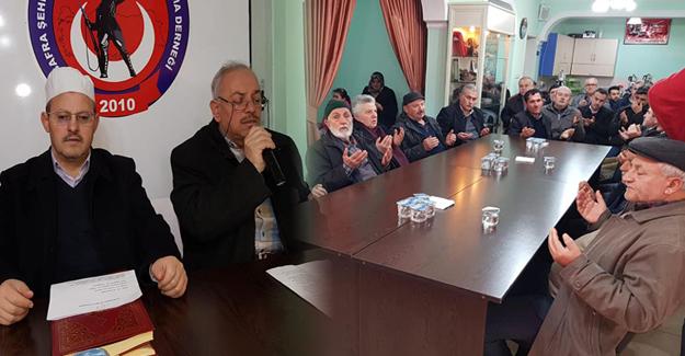 Bafra`da Şehitler için 103. Mevlit