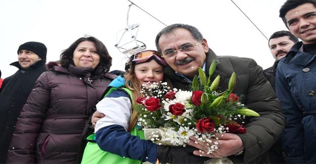 Başkan Demir Ladik'de