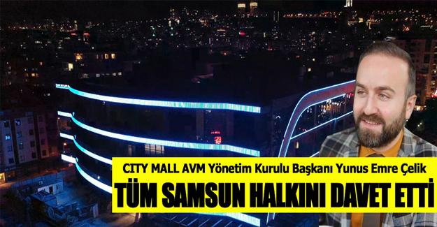 CITY MALL AVM`DEN DAVET