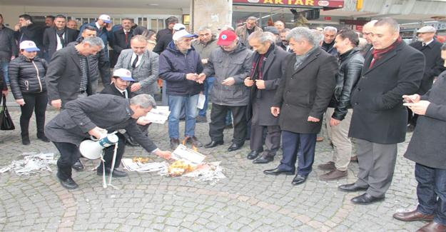 Türkiye Kamu-Sen Eylemde