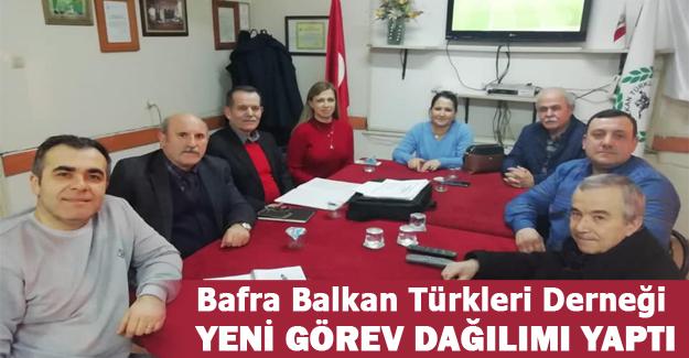 Bafra Balkan Türkleri Derneği Görev Dağılımı Toplantısı