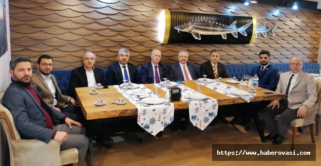 Cumhur İttifakı Başkanları Samsun'u konuştu