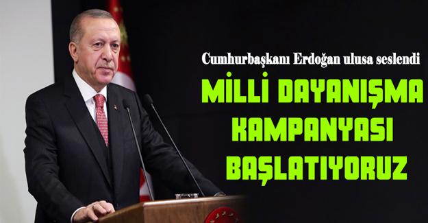 Erdoğan, 7 aylık maaşını da bağışladı