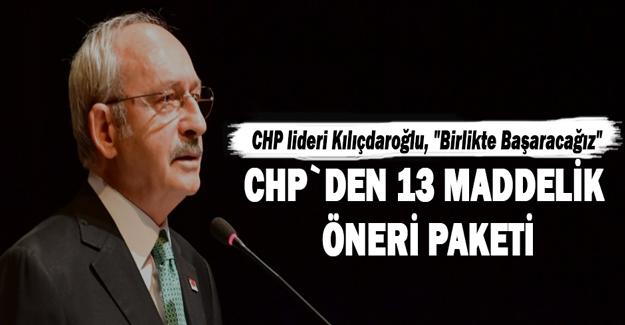 Kılıçdaroğlu, Covid-19 gündemli basın toplantısı düzenledi.