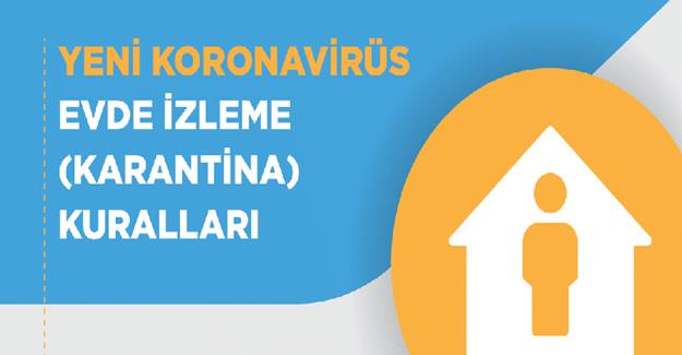 koronavirüsevde izleme (karantina) kuralları