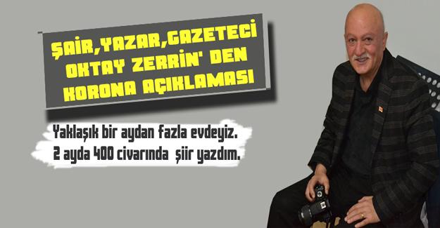 Şair, Yazar, Gazeteci Zerrin' Den Korona Açıklaması