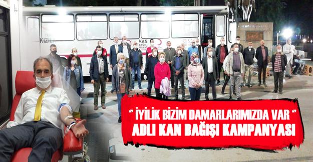 Bafra İYİ Parti Kan bağışında bulundu