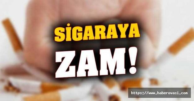 Sigaraya zam!