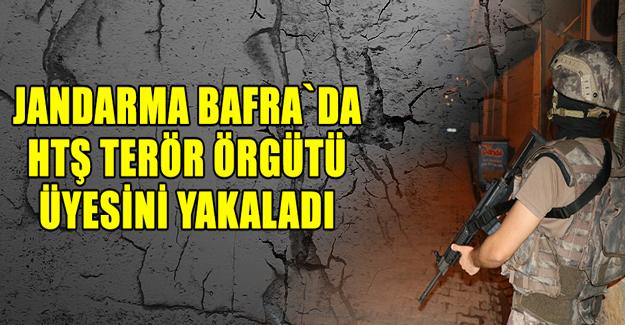 Bafra`da HTŞ terör örgütü üyesi Yakalandı