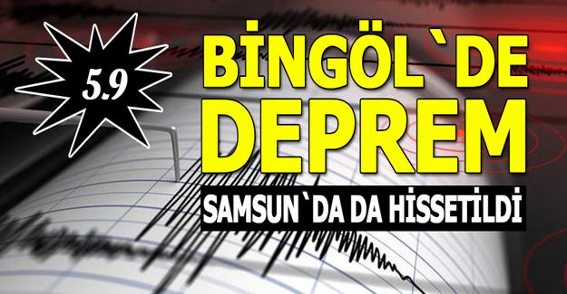 Bingöl`de Deprem