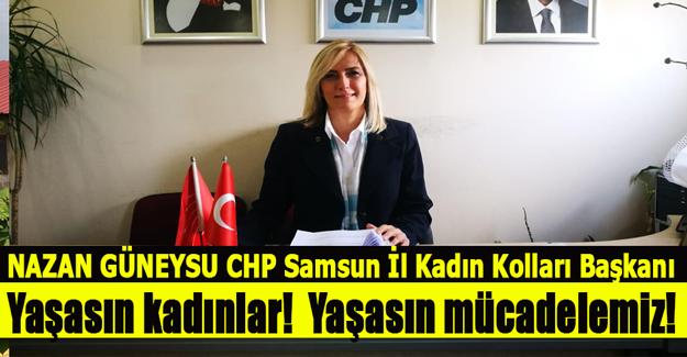 CHP`li Nazan Güneysu`dan  Basın Açıklaması