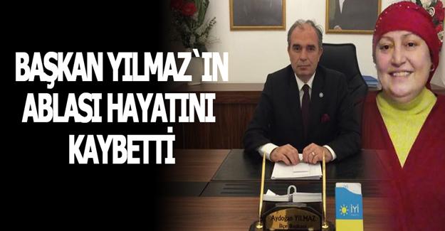 İYİ Parti İlçe Başkanı Aydoğan Yılmaz`ın Kardeş Acısı