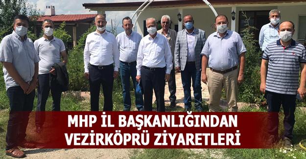 MHP İl Başkanlığından Vezirköprü Ziyaretleri