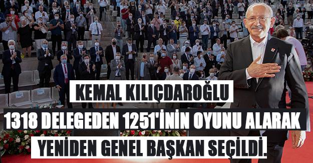 Kemal Kılıçdaroğlu Yeniden Başkan Seçildi