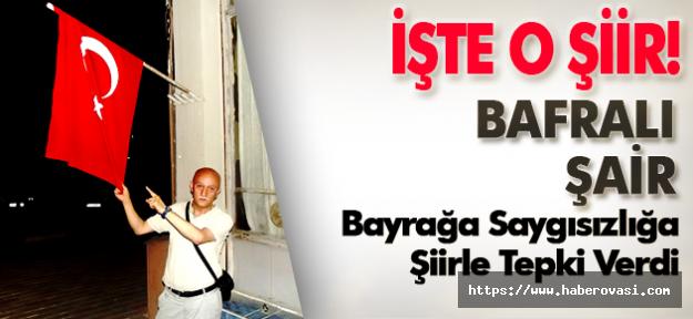 Türk Bayrağı' Nı Yakan Kendini Yakar!