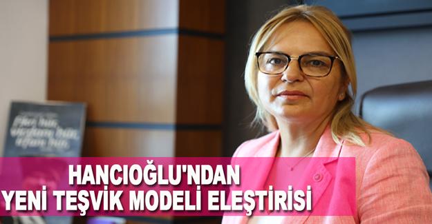 Hancıoğlu'ndan Yeni Teşvik Modeli Eleştirisi