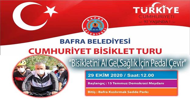 Bafra Belediyesi Cumhuriyet Bisiklet Turu