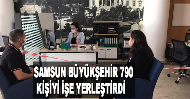 Büyükşehir 790 Kişiyi İşe Yerleştirdi