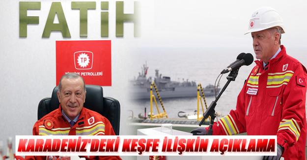 Karadeniz'deki keşfe açıklama geldi
