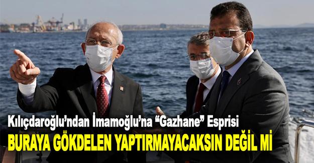 """Kılıçdaroğlu'ndan İmamoğlu'na """"Gazhane"""" Esprisi"""