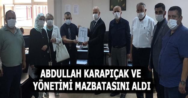 MHP Samsun İl Başkanlığı Mazbatasını aldı