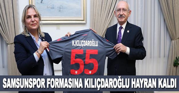Samsunspor formasına Kılıçdaroğlu hayran kaldı...