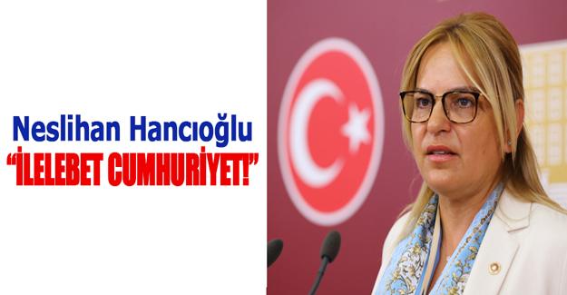 Vekil Hancıoğlu'nun 29 Ekim Cumhuriyet Bayramı mesajı