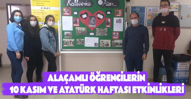 Alaçamlı Öğrencilerin 10 Kasım ve Atatürk Haftası Etkinlikleri