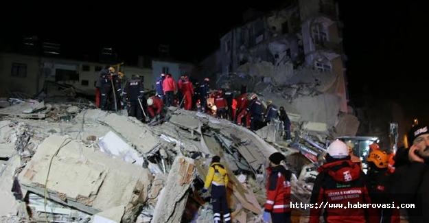 Deprem'de ölen kişi sayısı 111 oldu