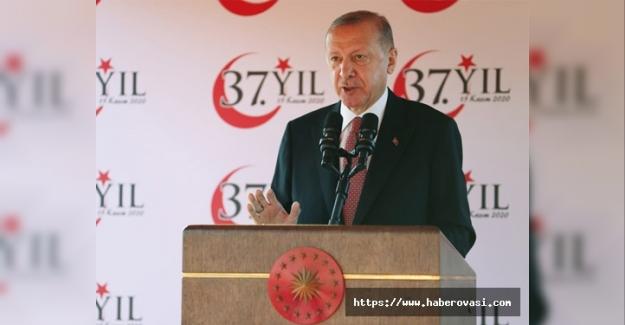 Erdoğan KKTC'de dünyaya konuştu