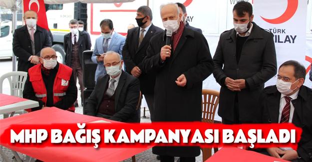 MHP Bağış Kampanyası Başladı