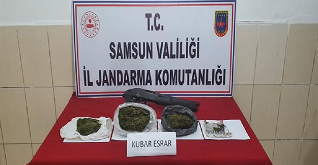 Samsun`da 13 Şüpheli Gözaltına Alındı