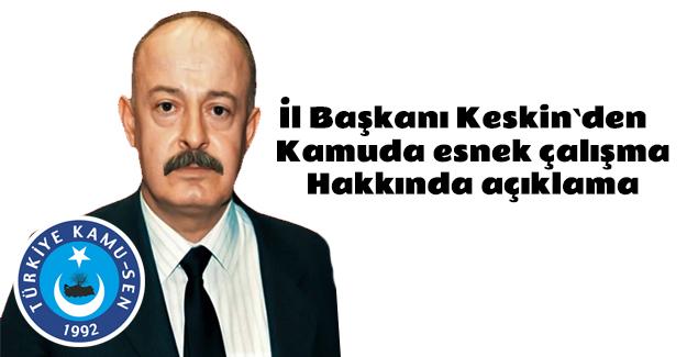 Türkiye Kamu sen`den Açıklama