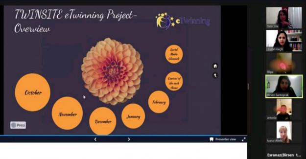 BAL' da TWINSITE eTwinning Projesi Başladı