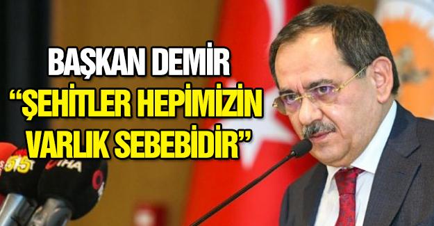 Başkan Demir Şehit Mezarlığı meselesinde son noktayı koydu