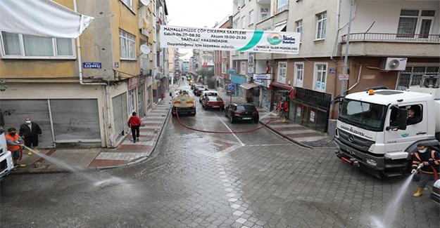 Boş Kalan Sokaklar virüsten Arındırılıyor