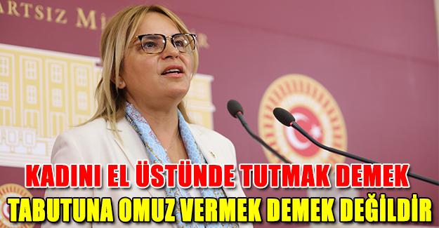 Neslihan Hancıoğlu: Kadını El Üstünde Tutmak