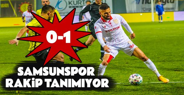 Samsunspor İstanbulspor'u deplasmanda 1-0 mağlup etti.