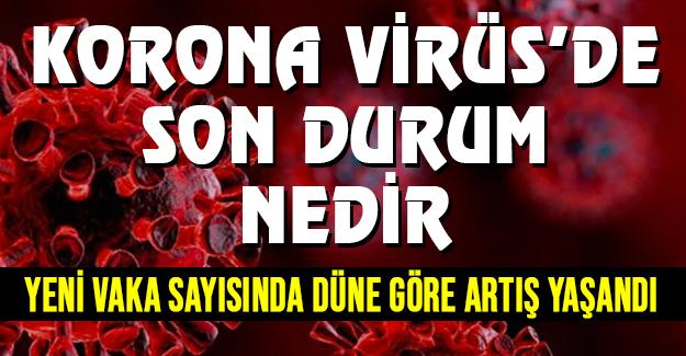 Korona virüs'de son durum